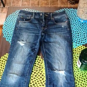 American Eagle Jean's boot cut size 4